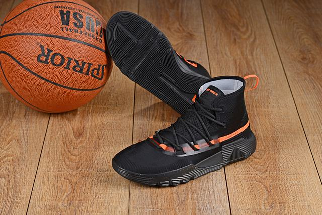 Curry 3 Shoes Black Orange